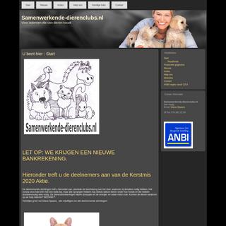 Start - Samenwerkende-dierenclubs