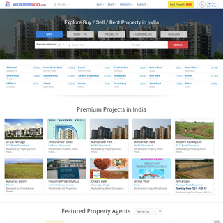 Property in India - Buy-Sale-Rent Properties,Real Estate India