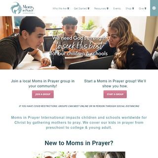 Moms In Prayer - Prayer Network - Christian Community