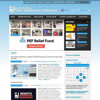 PEF - New York State Public Employees Federation
