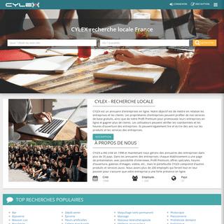 Cylex recherche locale France