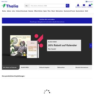 Thalia.at - Bücher, eBooks und mehr online bestellen