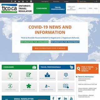 TICO - Travel Industry Council of Ontario