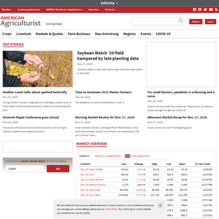 American Agriculturist - Crop, livestock and dairy farming information - Farm Progress