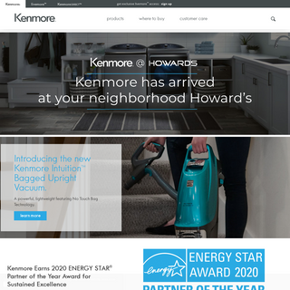 Best Appliances for Home, Kitchen, Laundry, & Cooking - Kenmore