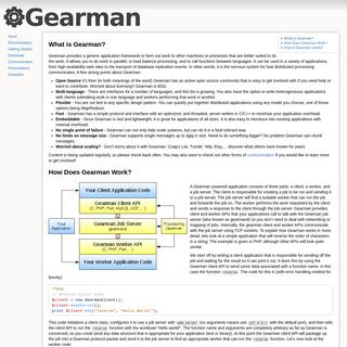 gearman [Gearman Job Server]