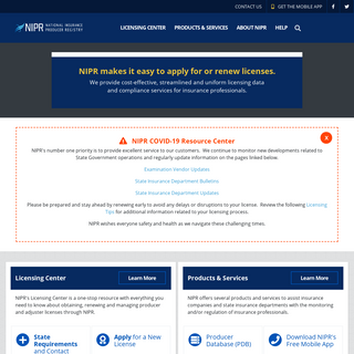 Home Page - NIPR