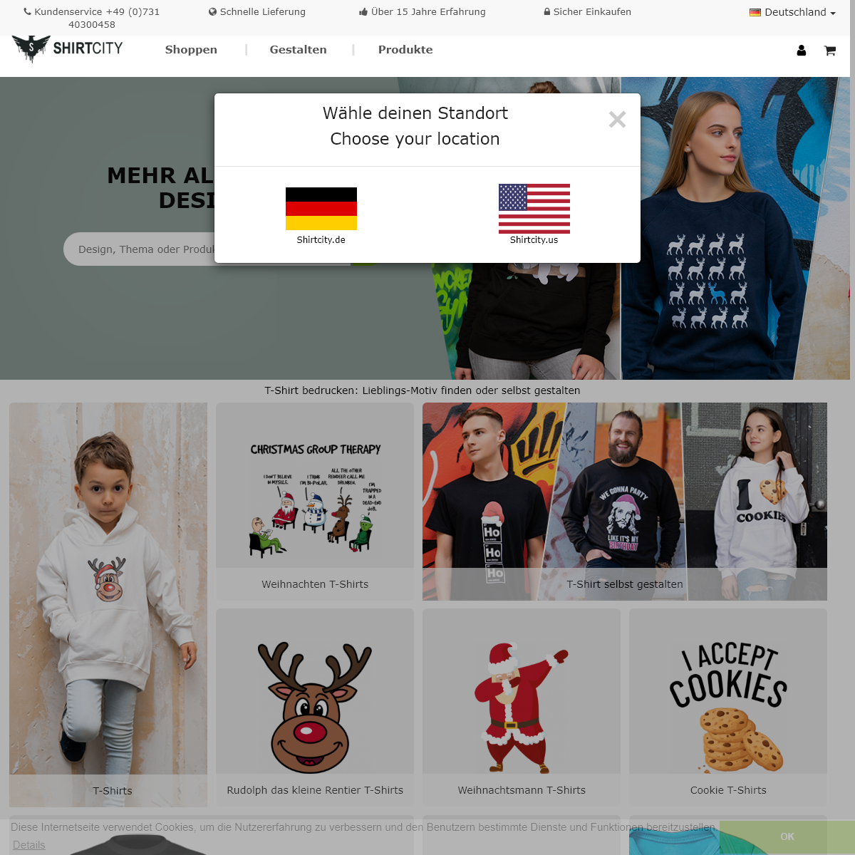 TOP T-Shirt Druck- T-Shirt bedrucken - Shirtcity.de