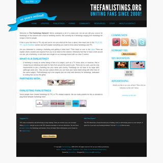 The Fanlistings Network