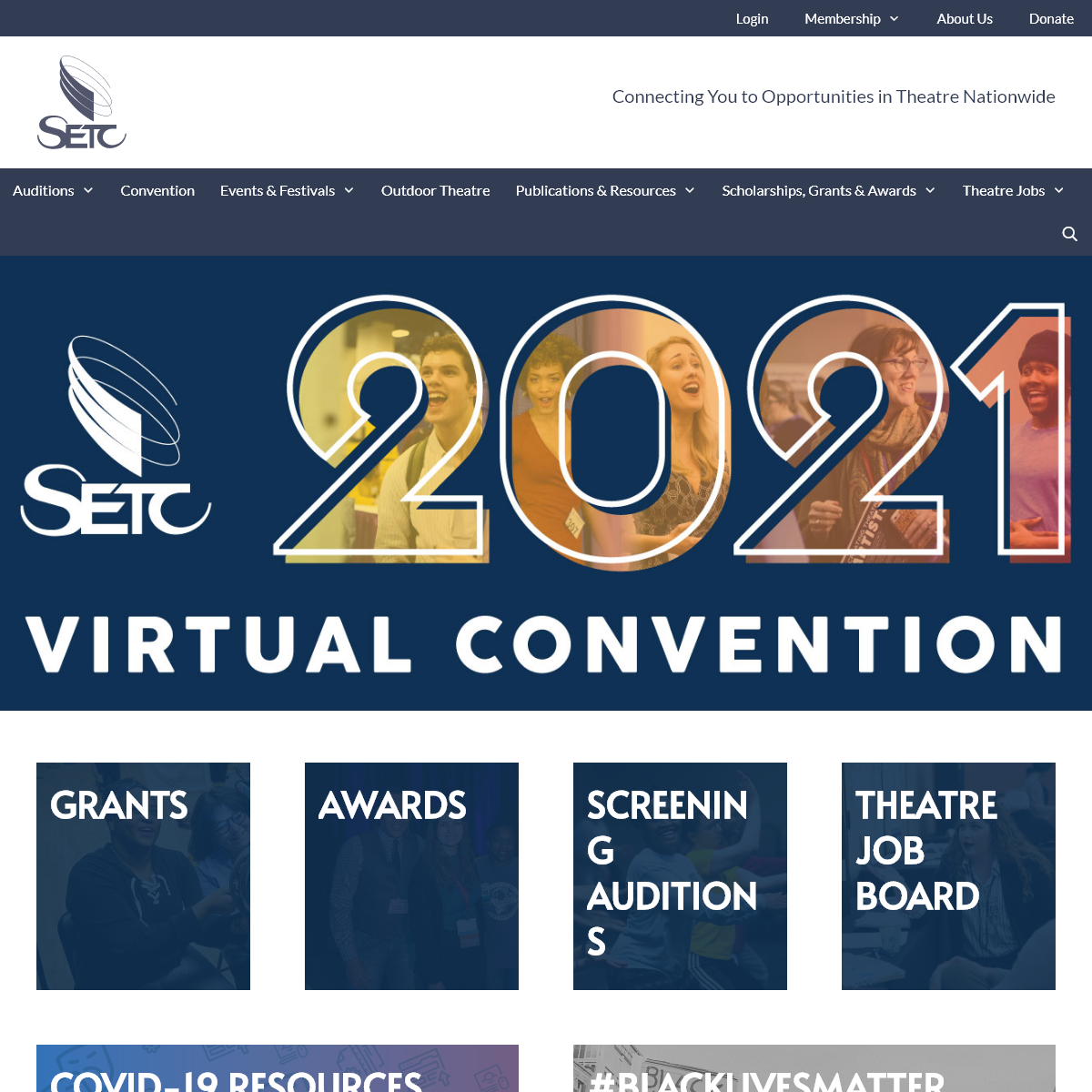 SETC - Connecting You to Opportunities in Theatre Nationwide