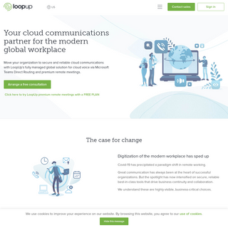Cloud Communications for The Modern Workplace - LoopUp
