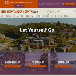 Visit Mountaineer Country CVB in Morgantown, WV - Travel Resources