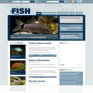Seriously Fish — Feeling fishy-