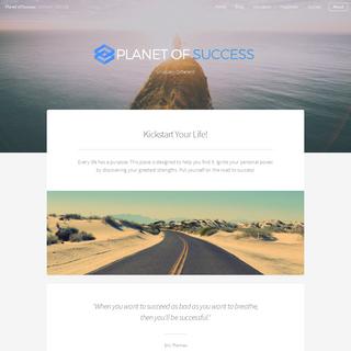 Planet of Success - Let`s Kickstart your Life