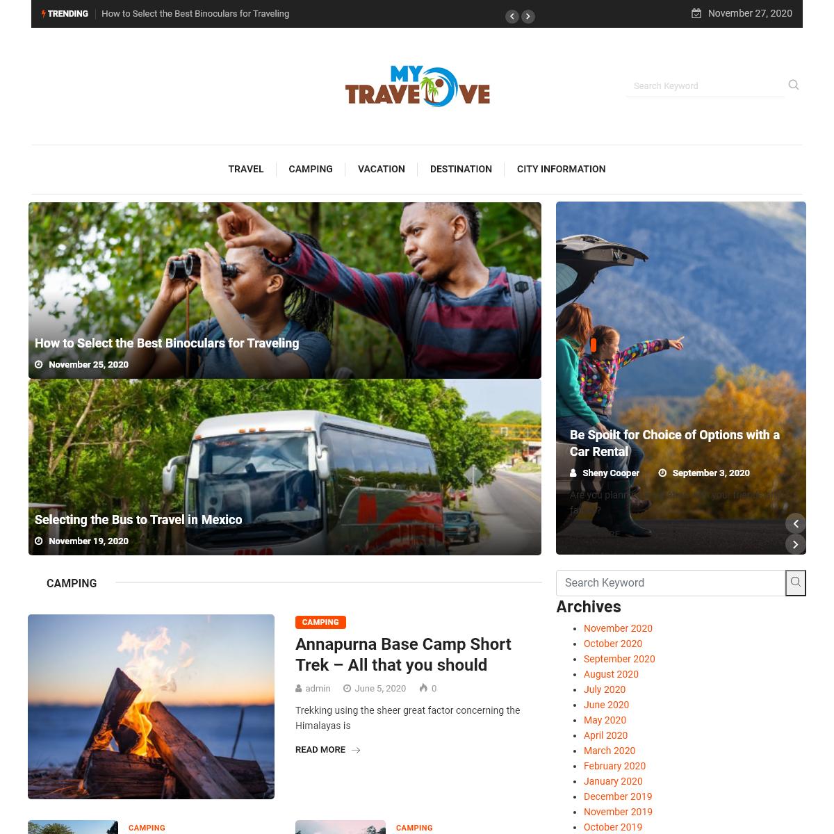 MY Travelove - Travel Blog