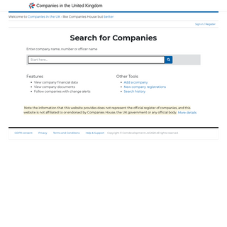 Companies In The UK - accounts, finances, directors and marketing lists for United Kingdom companies