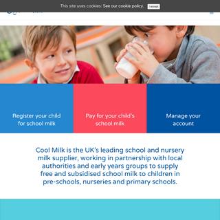 Cool Milk - the UK`s leading school and nursery milk supplier