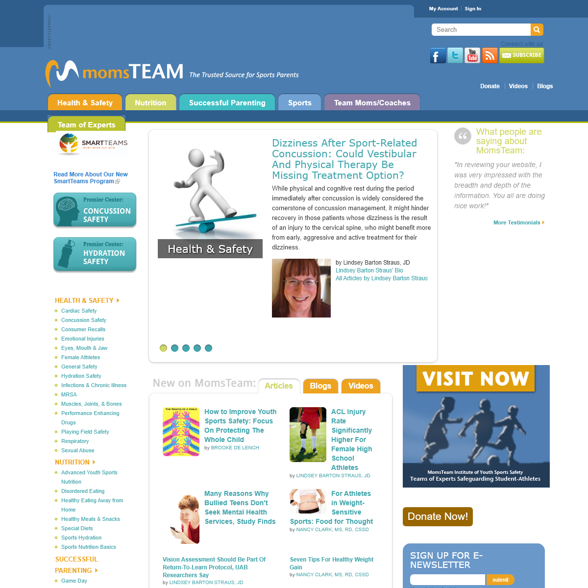 MomsTeam - Complete Youth Sports Resource Site