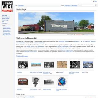 A complete backup of bhamwiki.com
