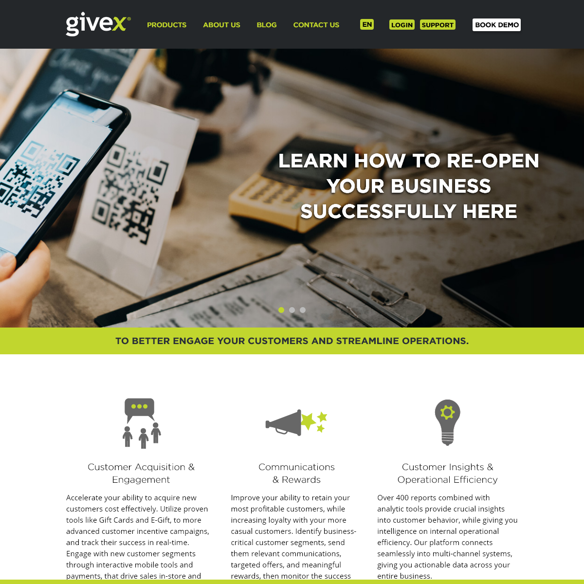 Givex - Platform for Gift Cards, Loyalty, Cloud POS
