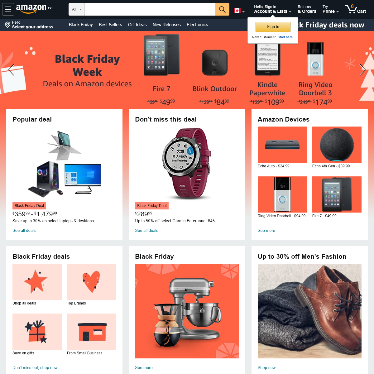 Amazon.ca- Low Prices – Fast Shipping – Millions of Items