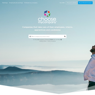 ChooseMyCompany - Reviews and salaries on all companies