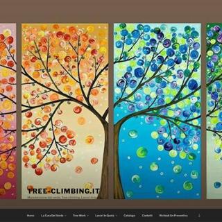 Tree-climbing.it – Manutenzione del verde, Tree climbing, Lavori in quota