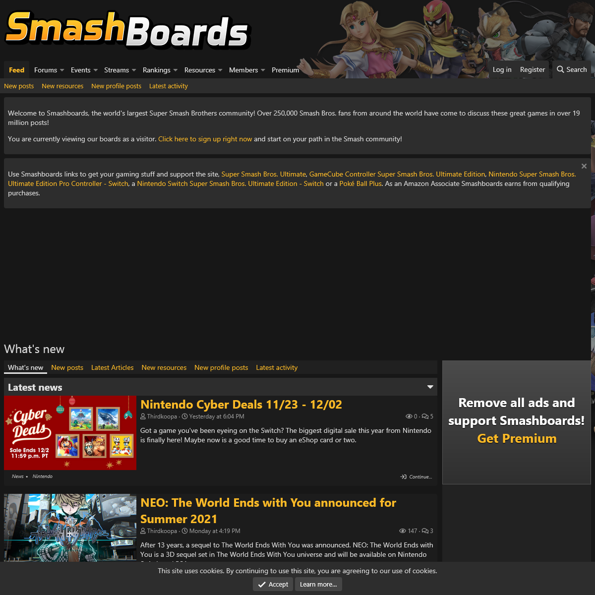 What`s new - Smashboards