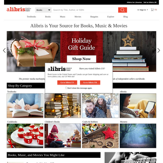Alibris UK - Buy new and second-hand books, textbooks, music and movies