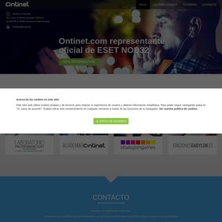 Ontinet.com - Distribuidor exclusivo de ESET en España