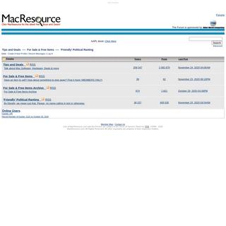 MacResource Forums