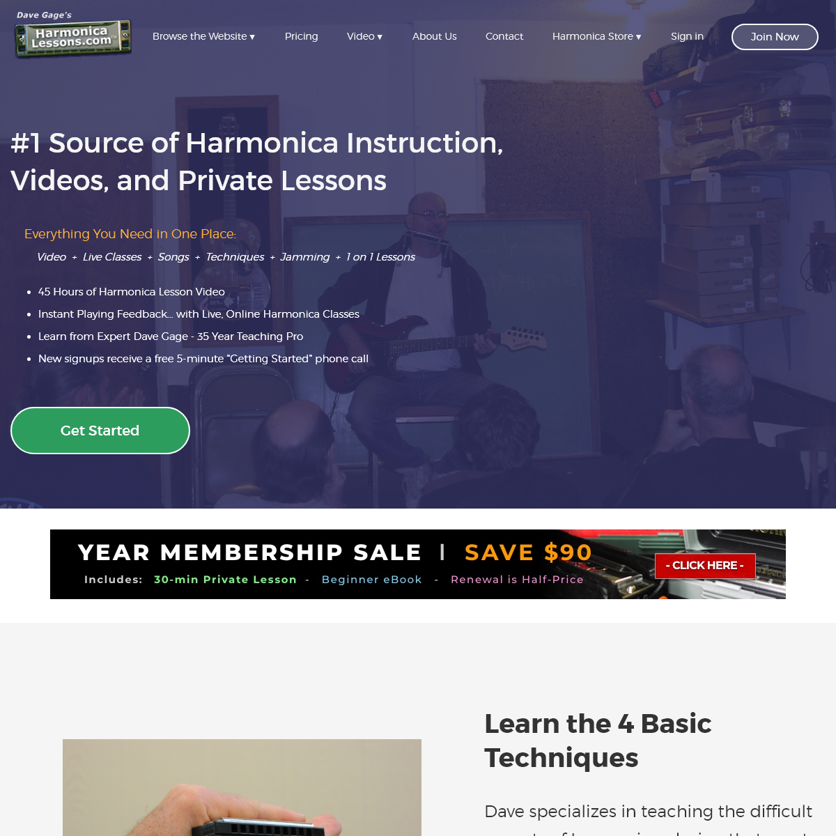 Harmonica Lessons [Official Site] - Absolute Beginners, Intermediate to Advanced Harmonica Video Tutorials - Best Online Harmoni