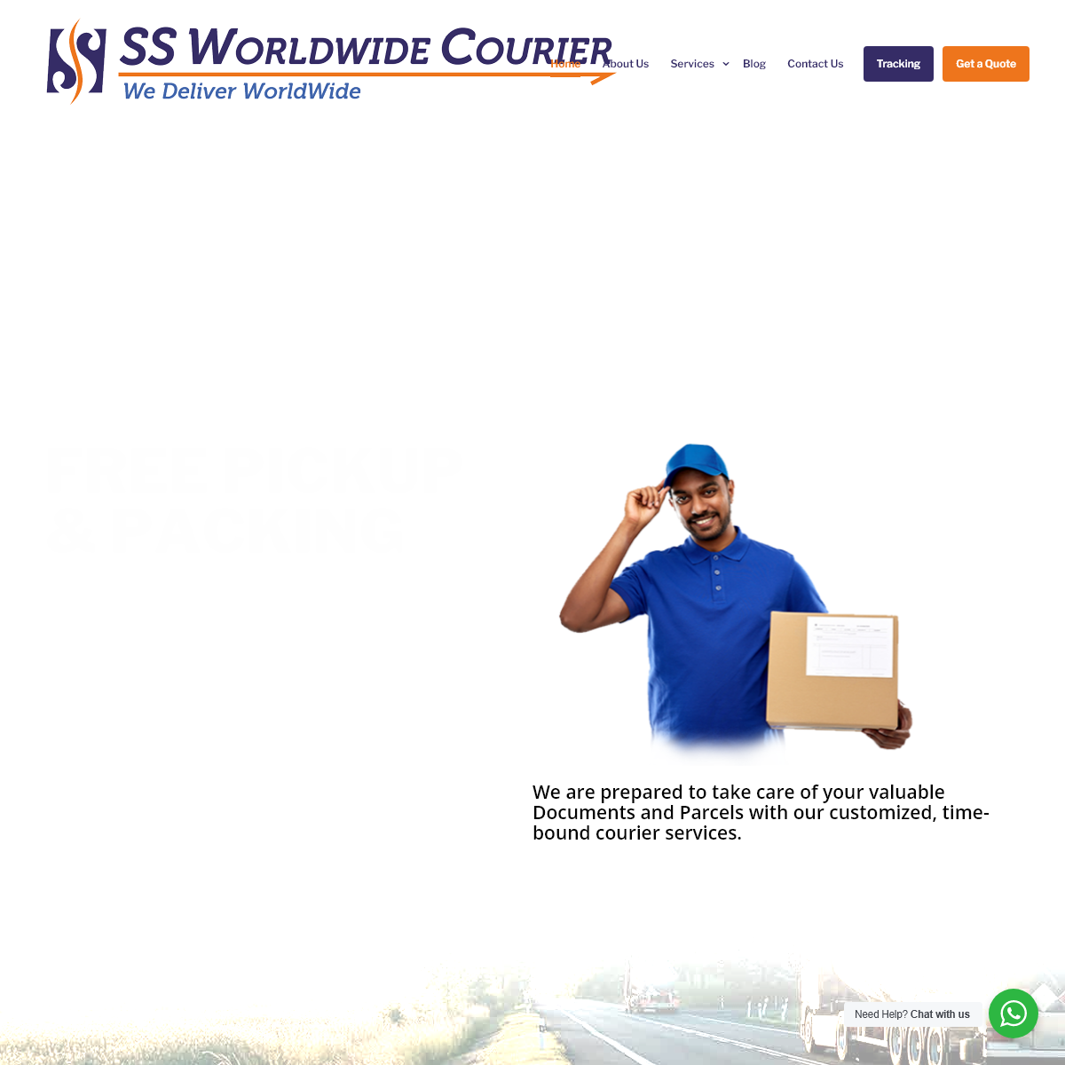 SS Worldwide Courier – We Deliver Worldwide