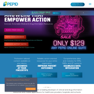 PEPID - Clinical Decision Support