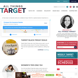 All Things Target - Save Money with Target Coupons, Clearance Deals and more