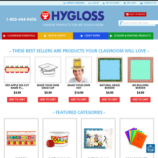 Hygloss Products Teacher Supplies- Discount Classroom Supplies - Arts & Crafts Store
