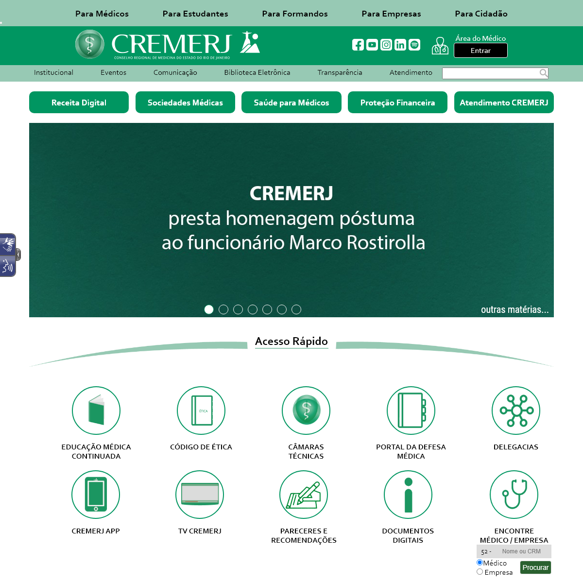 A complete backup of cremerj.org.br