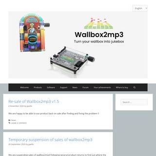 WALLBOX2MP3 -