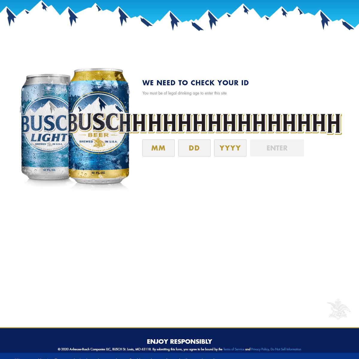 Busch Beer - The Sound of Refreshment