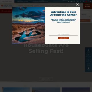 Lake Powell Resorts, Marinas, Houseboating & Tours - AZ, UT