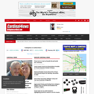 Cardinal News – Arlington Heights News, Sports, Weather, Health & Fitness