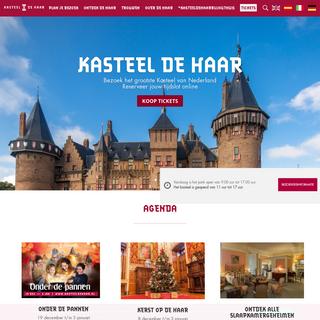 Kasteel de Haar Utrecht - Ontdek de bijzondere verhalen!