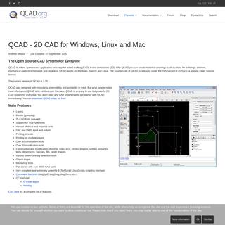 QCAD - QCAD- 2D CAD