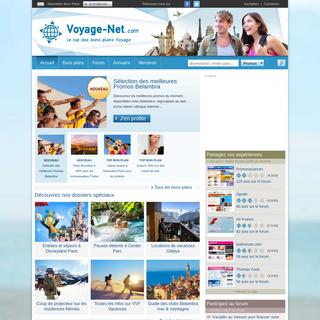 Voyage-Net.com - le top des bons plans Voyage