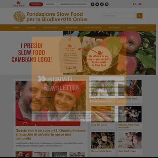 Fondazione Slow Food - Salva la biodiversità, salva il pianeta