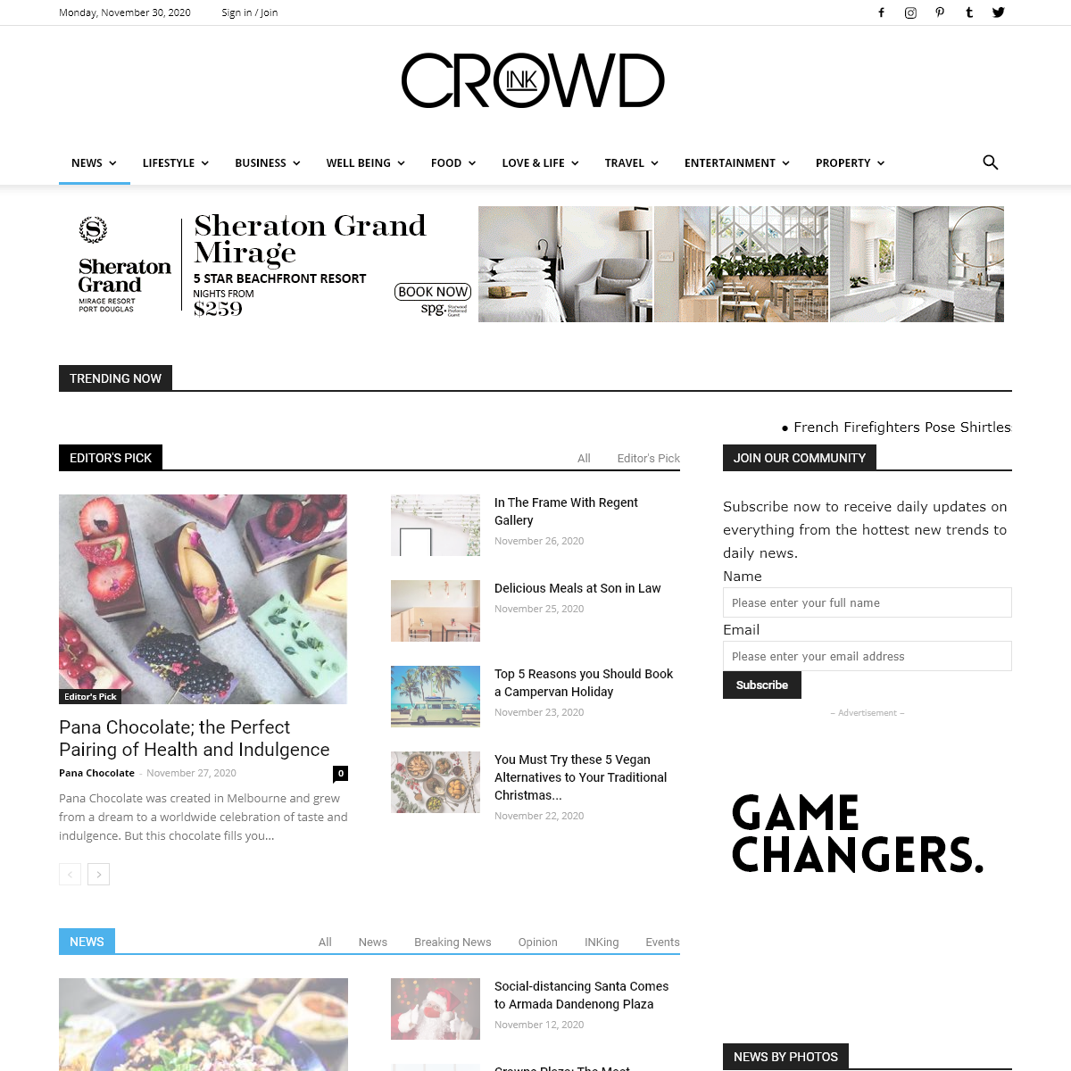 CrowdInk - Breaking News, Trends & Insights