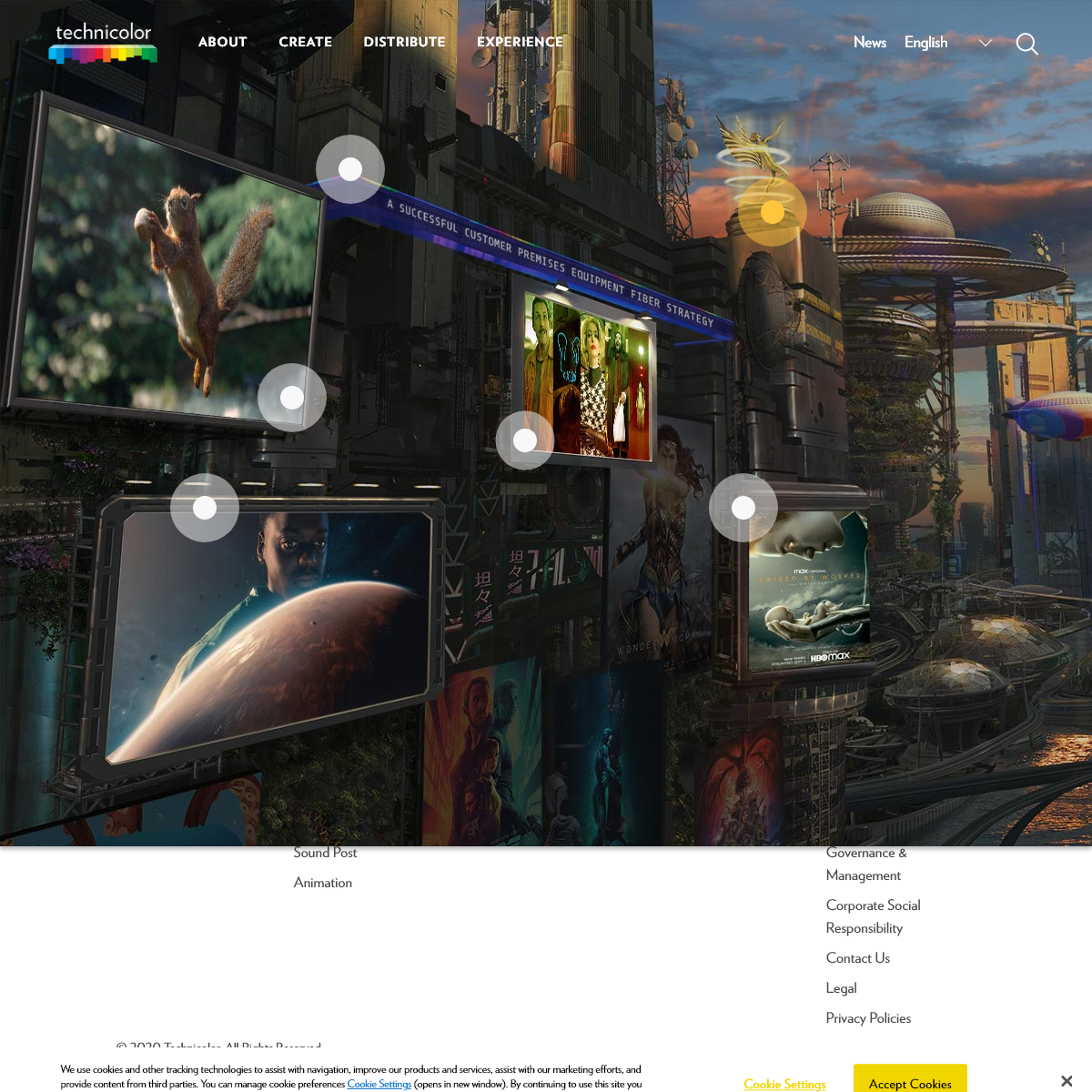Technicolor Home Page