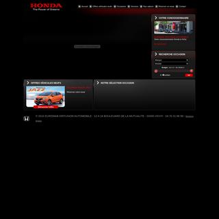 EUROMAB DIFFUSION AUTOMOBILE - Concession Honda Vichy - Allier