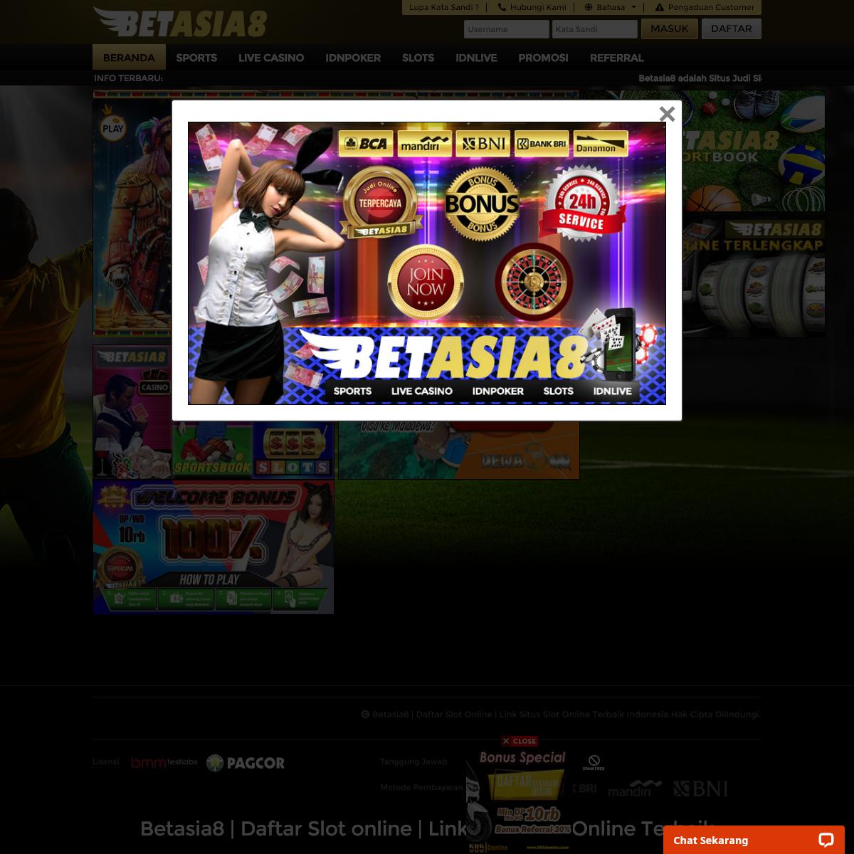 Betasia8 - Daftar Slot Online - Link Situs Slot Online Terbaik Indonesia