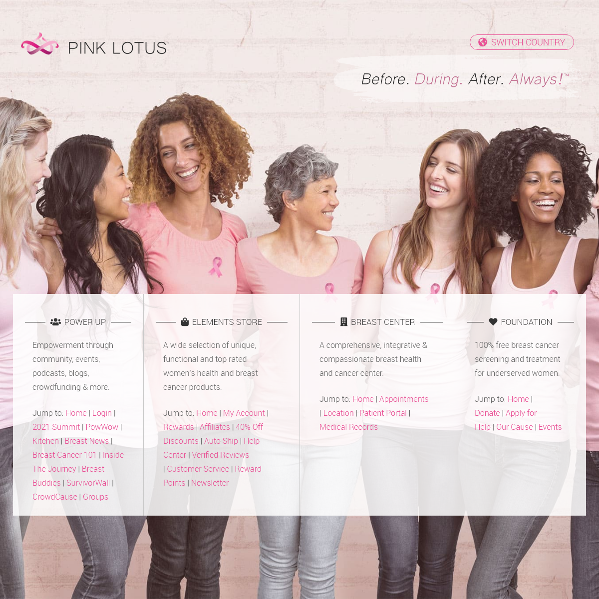 Pink Lotus ~ Your #1 Destination for Breast Cancer